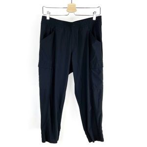 The North Face Lightweight Cropped Black Joggers